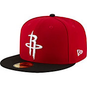 New Era Men's Houston Rockets 59Fifty Red/Black Fitted Hat