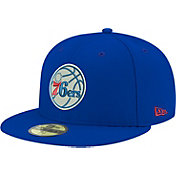New Era Men's Philadelphia 76ers 59Fifty Royal Fitted Hat