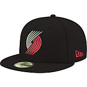 New Era Men's Portland Trail Blazers 59Fifty Black Fitted Hat