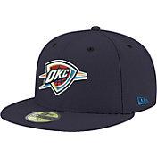 New Era Men's Oklahoma City Thunder 59Fifty Navy Fitted Hat