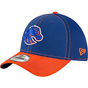 New Era Men's Boise State Broncos Blue/Orange Team Front Neo 39Thirty Stretch Fit Hat