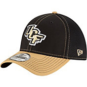 New Era Men's UCF Knights Black/Gold Team Front Neo 39Thirty Stretch Fit Hat