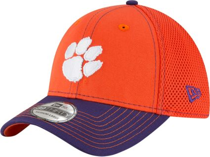 5abc13ce298d7 ... best price new era mens clemson tigers orange regalia team front neo  39thirty stretch fit hat