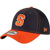 New Era Men's Syracuse Orange Blue/Orange Team Front Neo 39Thirty Stretch Fit Hat