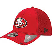 New Era Men's San Francisco 49ers 39Thirty Neoflex Red Stretch Fit Hat