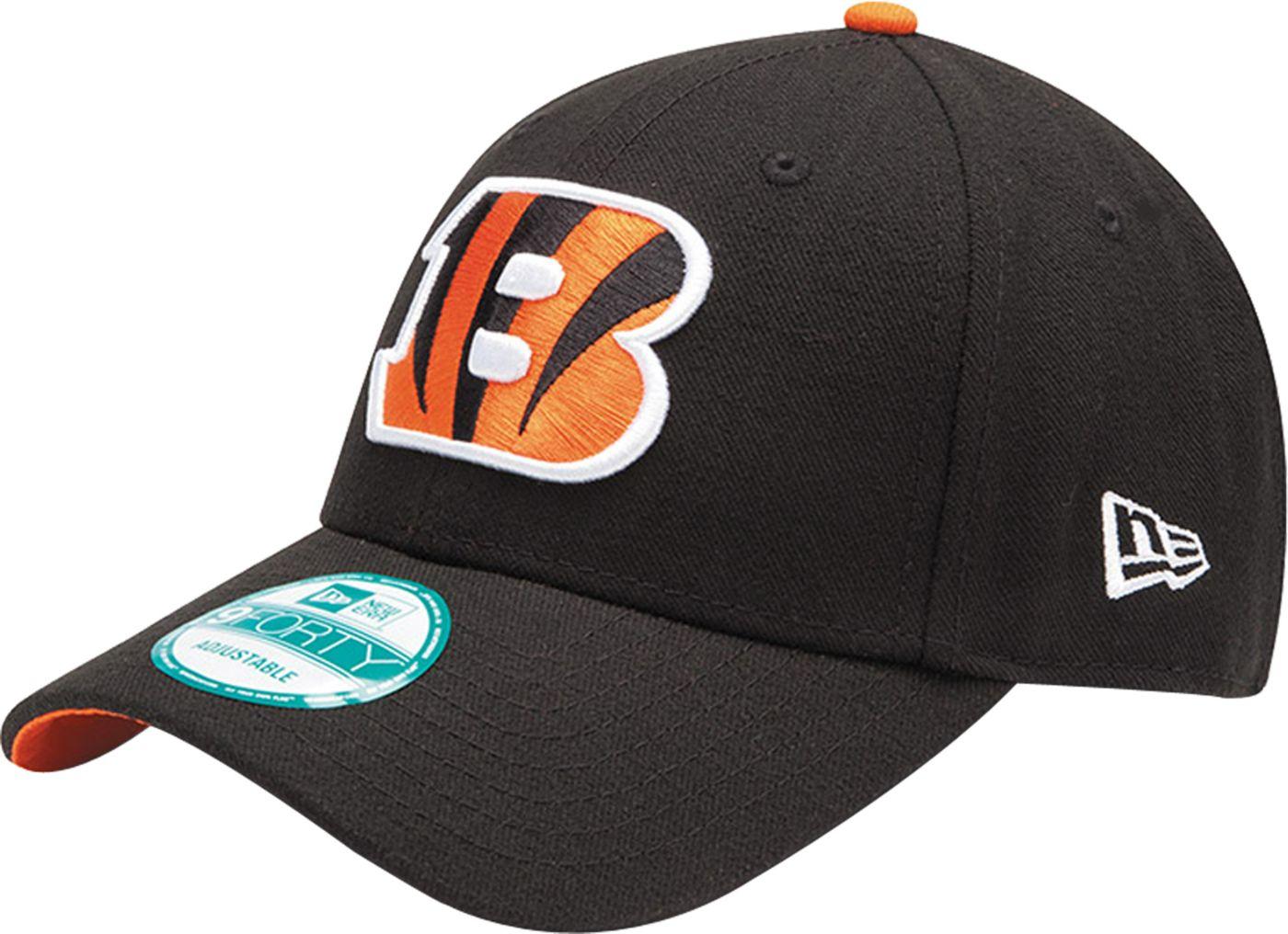 New Era Men's Cincinnati Bengals Black League 9Forty Adjustable Hat