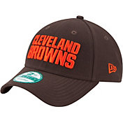 New Era Men's Cleveland Browns League 9Forty Brown Adjustable Hat