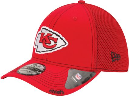 New Era Men s Kansas City Chiefs 39Thirty Neo Red Stretch Fit Hat.  noImageFound 9ff0fef59