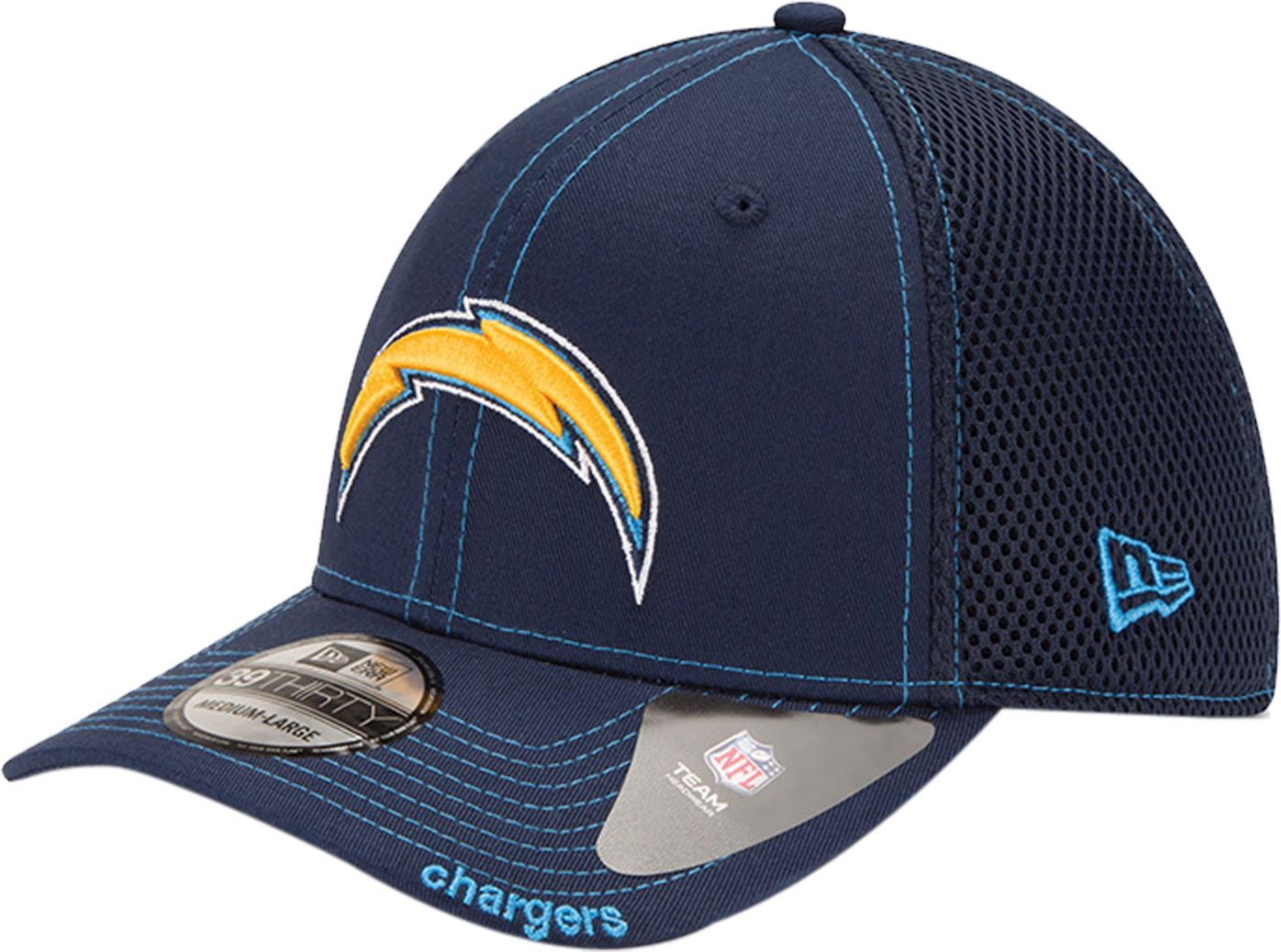 New Era Men's Los Angeles Chargers 39Thirty Neoflex Navy Stretch Fit Hat