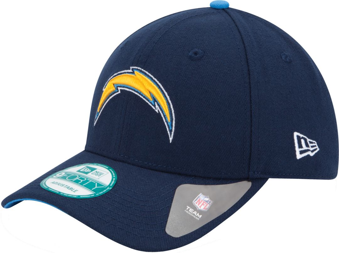 size 40 eb1c8 958f7 New Era Men s Los Angeles Chargers League 9Forty Adjustable Navy Hat 1