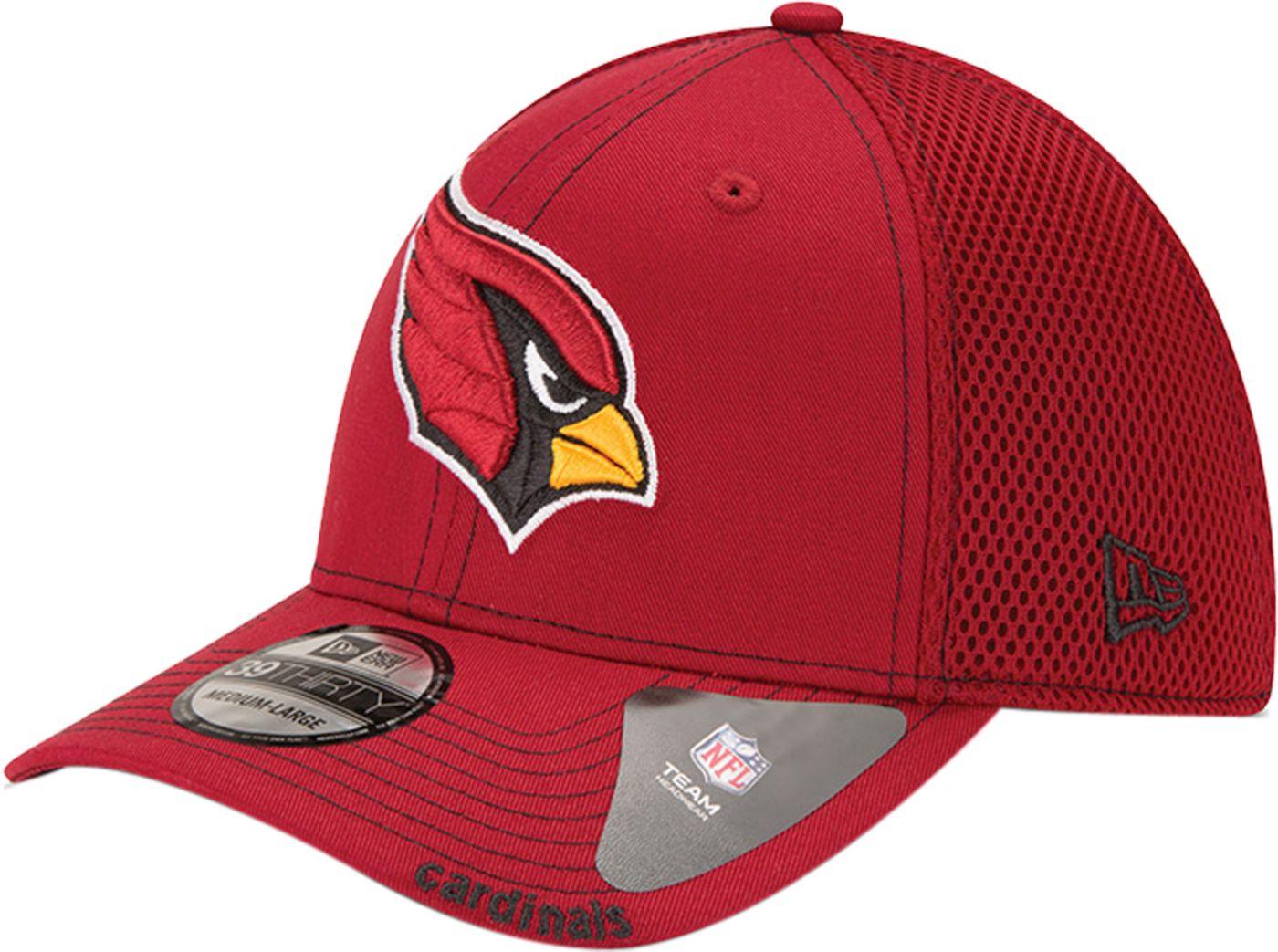 New Era Men's Arizona Cardinals 39Thirty Neoflex Red Stretch Fit Hat