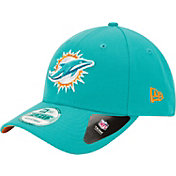 New Era Men's Miami Dolphins 9Forty League Adjustable Aqua Hat