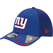 New Era Men's New York Giants 39Thirty Neoflex Blue Stretch Fit Hat