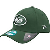 New Era Men's New York Jets League 9Forty Adjustable Green Hat