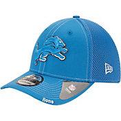New Era Men's Detroit Lions 39Thirty Neoflex Blue Stretch Fit Hat