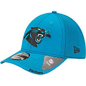New Era Men's Carolina Panthers 39Thirty Neoflex Blue Stretch Fit Hat