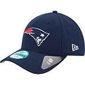 New Era Men's New England Patriots League 9Forty Adjustable Navy Hat