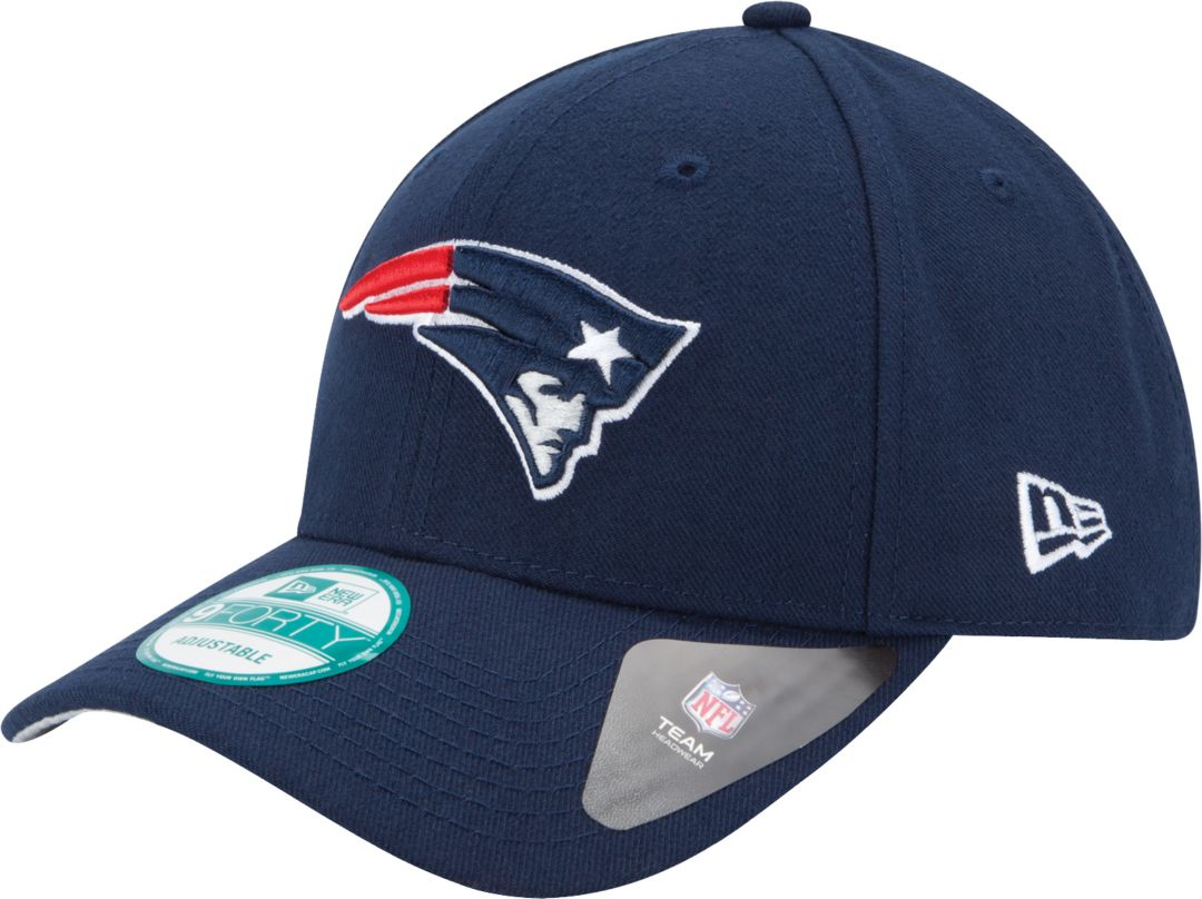 Nice New Era Men's New England Patriots League 9Forty Adjustable Navy Hat  hot sale
