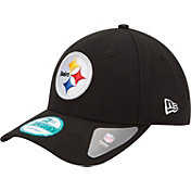2ae838d42 Product Image · New Era Men's Pittsburgh Steelers League 9Forty Adjustable  Black Hat