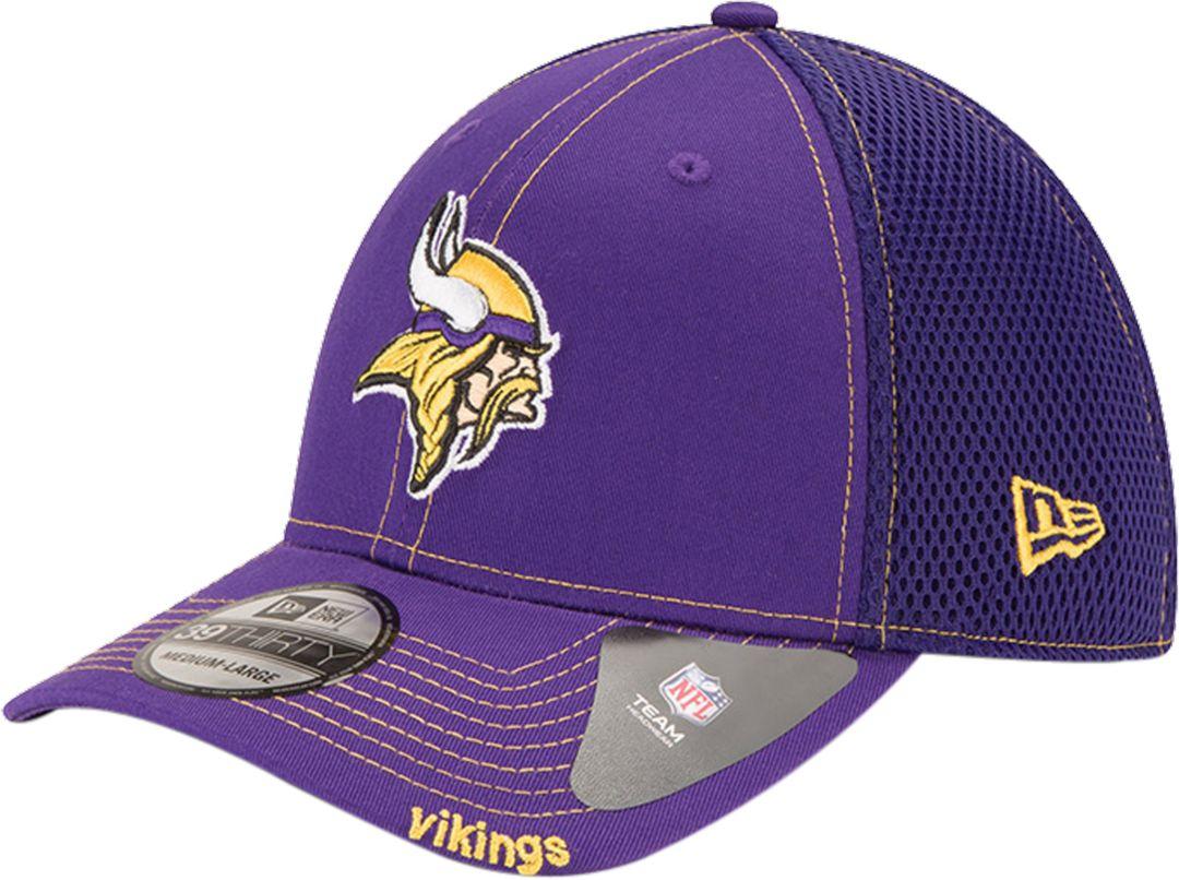 big sale d5e3a 6c04f New Era Men s Minnesota Vikings 39Thirty Neo Flex Purple Hat 1