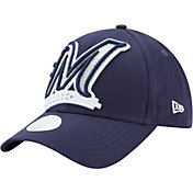 New Era Women's Milwaukee Brewers 9Forty Glitter Glam Adjustable Hat