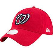 New Era Women's Washington Nationals 9Twenty Team Glisten Red Adjustable Hat