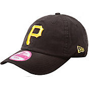 New Era Women's Pittsburgh Pirates 9Forty Essential Black Adjustable Hat