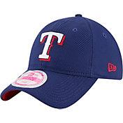 New Era Women's Texas Rangers 9Forty Royal Adjustable Hat