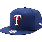 New Era Women's Texas Rangers 9Fifty Team Glisten Adjustable Hat