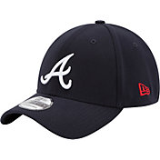 New Era Youth Atlanta Braves 39Thirty Classic Navy Stretch Fit Hat