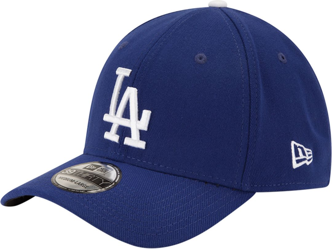 4be35d3520c12c New Era Youth Los Angeles Dodgers 39Thirty Classic Royal Stretch Fit Hat 1