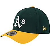 New Era Youth Oakland Athletics 39Thirty Classic Green Stretch Fit Hat