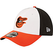 New Era Youth Baltimore Orioles 39Thirty Classic Black Stretch Fit Hat
