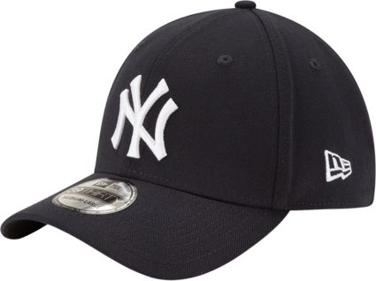 17cb06a83e555 New Era Youth New York Yankees 39Thirty Classic Navy Stretch Fit Hat ...