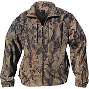 Natural Gear Men's Fleece Full Zip Hunting Jacket