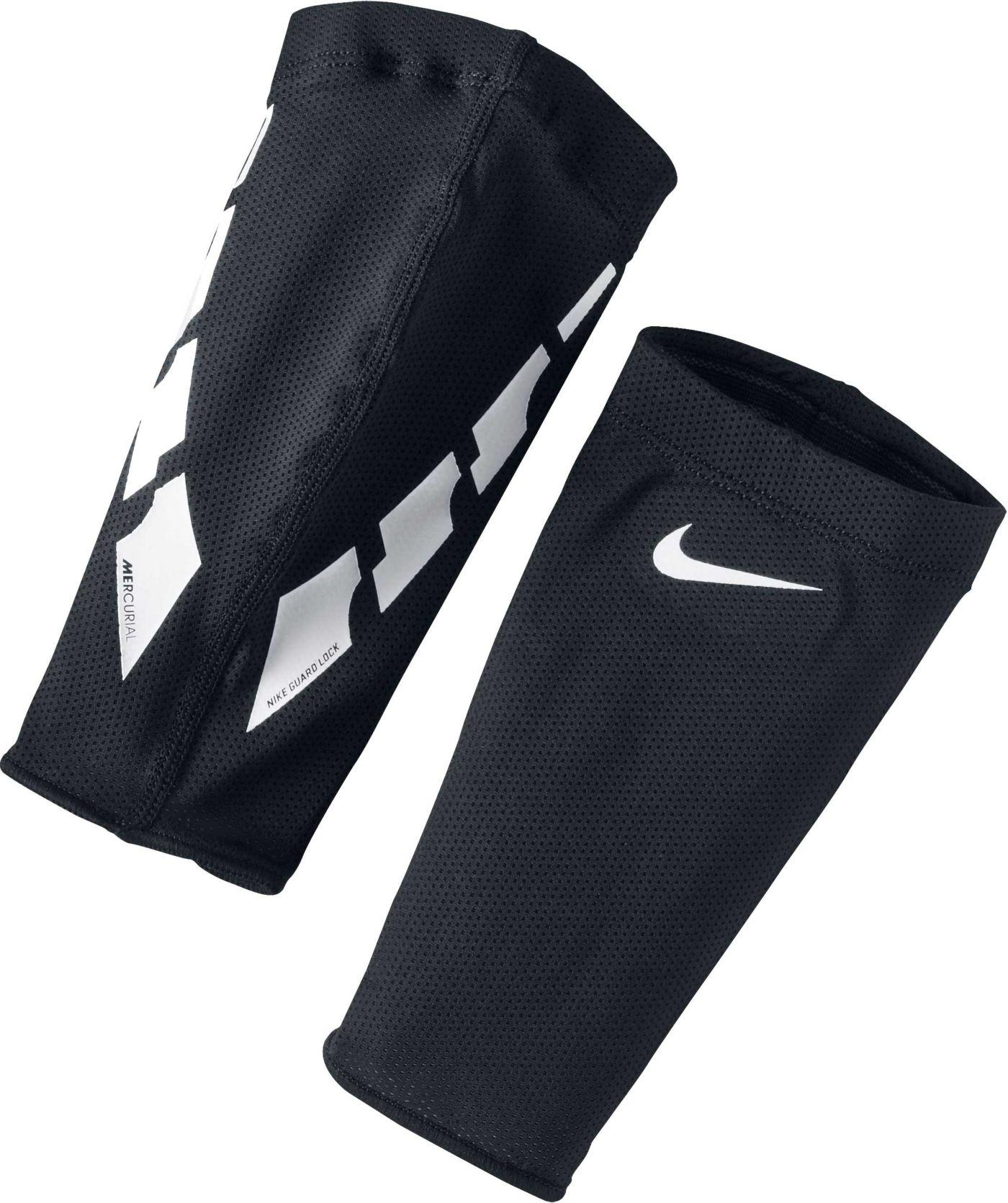 Nike Adult Guard Lock Elite Soccer Shin Guard Sleeves