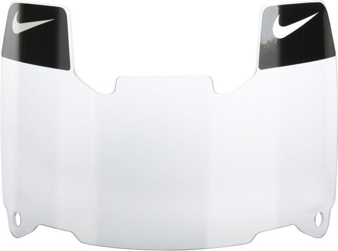 Nike Gridiron Football Visor Eye Shield With Decals 2 0
