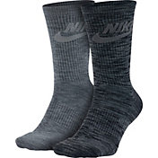 Nike Men's Sportswear Advance Crew Socks 2 Pack