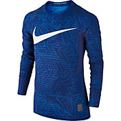 Nike Boys' Pro Warm Long Sleeve Shirt