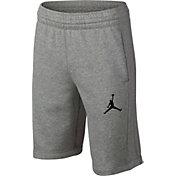 Jordan Boys' Flight Lite French Terry Basketball Shorts