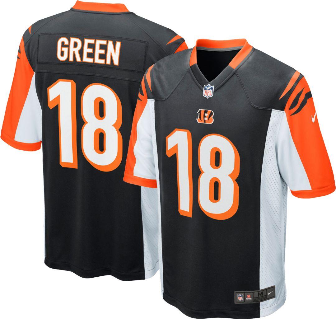 buy popular 7d5e2 2c395 Nike Boys' Home Game Jersey Cincinnati Bengals A.J. Green #18