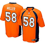 Nike Boys' Denver Broncos Von Miller #58 Orange Game Jersey