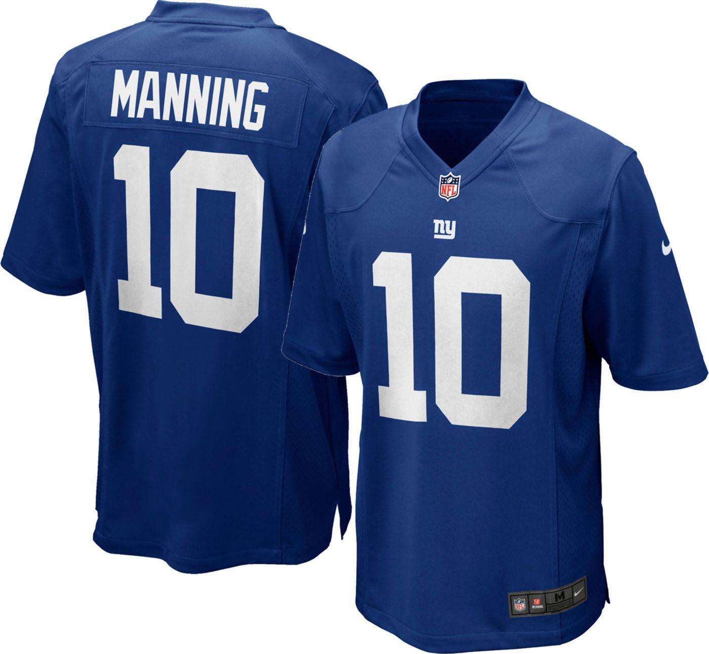 Nike Boys' Home Game Jersey New York Giants Eli Manning #10