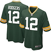 Nike Boys' Green Bay Packers Aaron Rodgers #12 Green Game Jersey