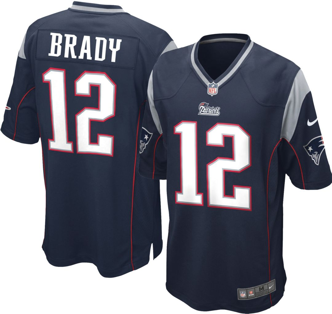 e3e3c2bc Nike Boys' Home Game Jersey New England Patriots Tom Brady #12