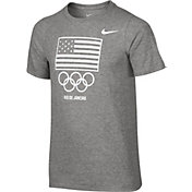 Nike Boys' Team USA USOC Flag Graphic T-Shirt