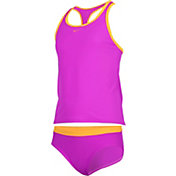 Nike Girls' Core Solid Racerback Tankini