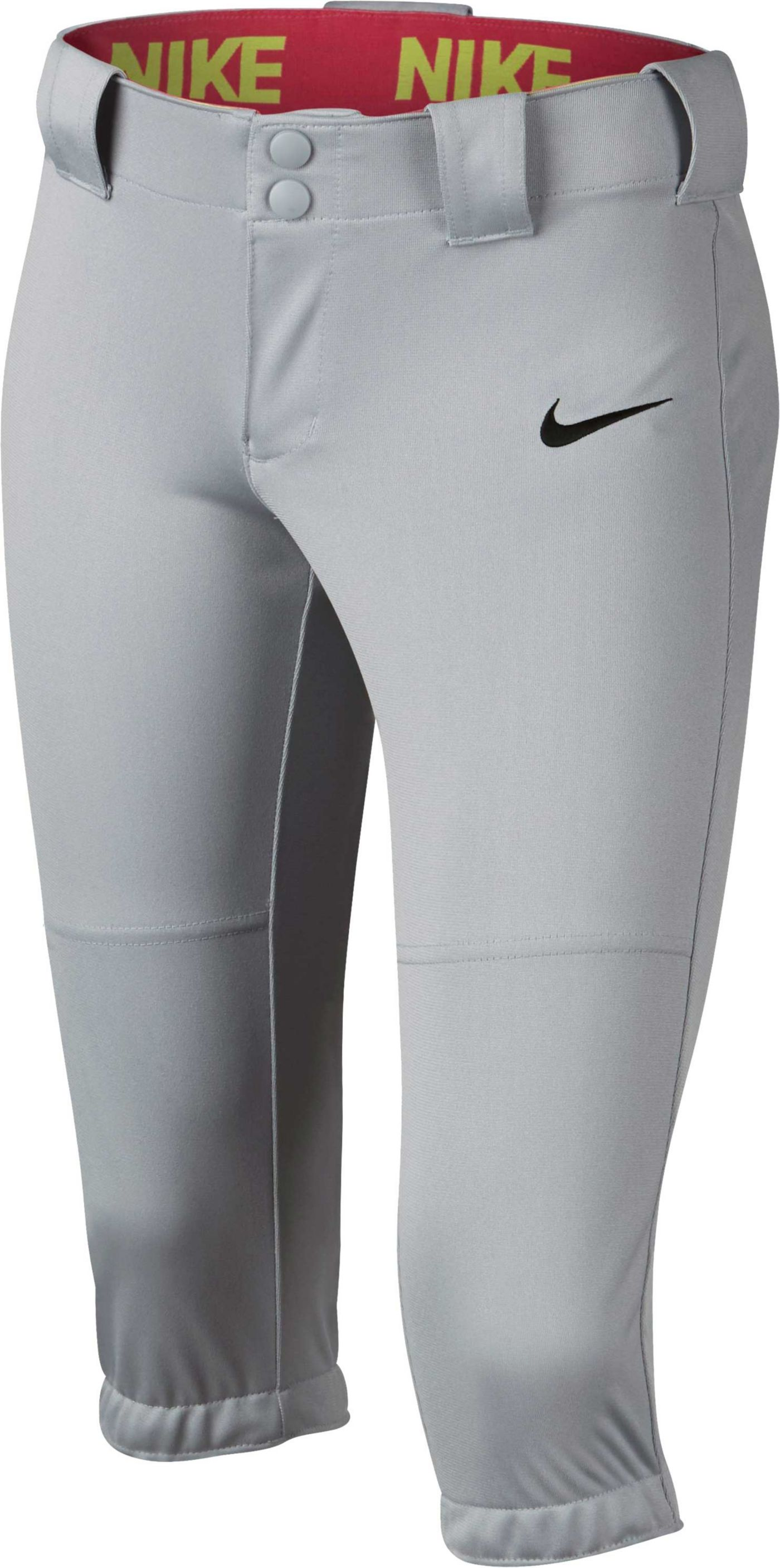 Nike Girls' Diamond Invader ¾ Length Fastpitch Pants