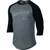 Jordan Men's Raglan 3/4 Length Graphic T-Shirt