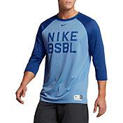 Nike Men's Legend 3/4 Length Sleeve Baseball Shirt